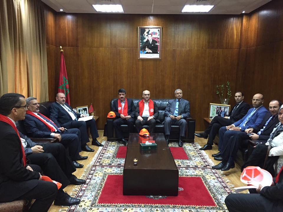 إبرام اتفاقية للتعاون المشترك بين نقابة موظفي المحاكم بتركيا والجامعة الوطنية لقطاع العدل