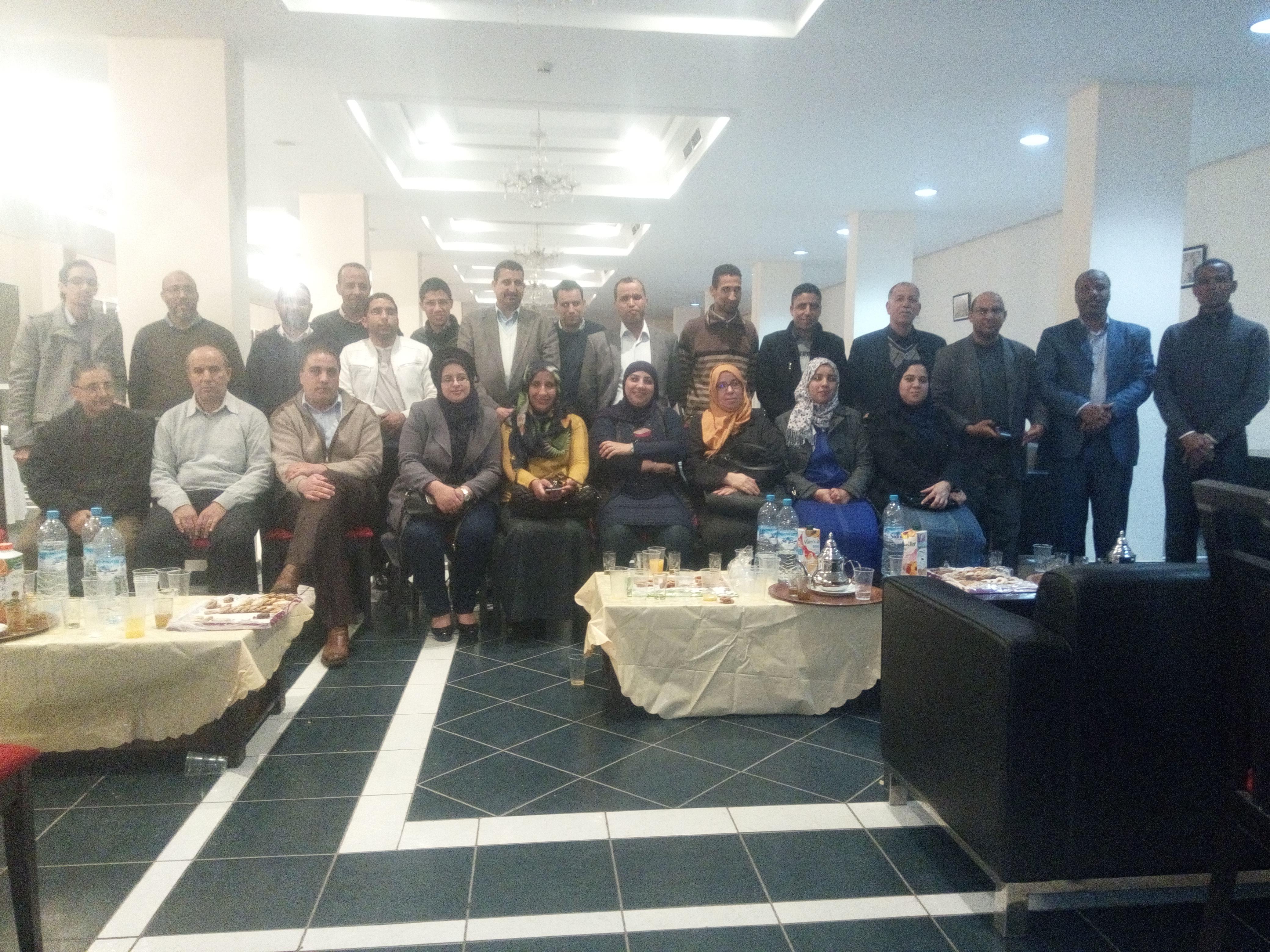 المكتب الجهوي بأكادير - لقاء تواصلي مع أعضاء ومناضلات ومناضلي المكاتب المجالية