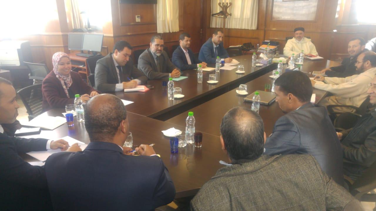 الجامعة تستأنف الحوار مع وزارة العدل وتؤكد على ضرورة التنزيل السليم للتنظيم القضائي وتنفيذ تعديلات النظام الأساسي.